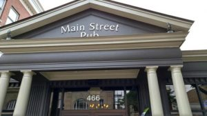 Main Street Pub restaurant Glen Ellyn