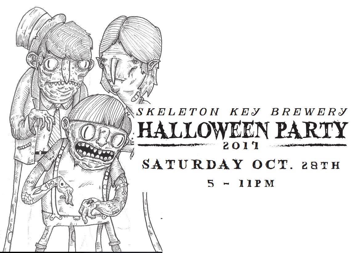 Skeleton Key Brewery Pop-up Halloween Escape Room